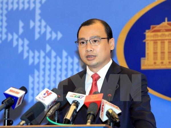 越南外交部发言人:尚未找到在日本失踪的三名越南公民 hinh anh 1