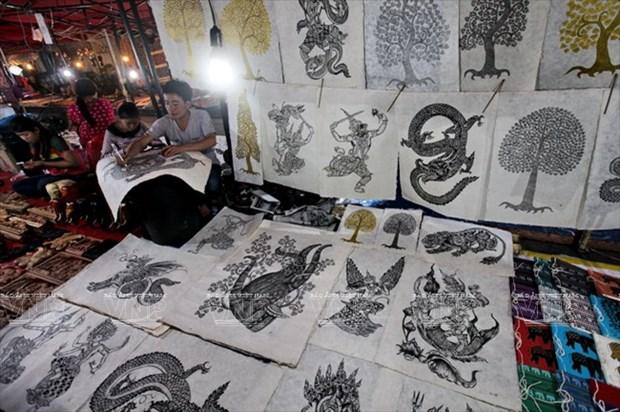 老挝琅勃拉邦的纱纸 hinh anh 7