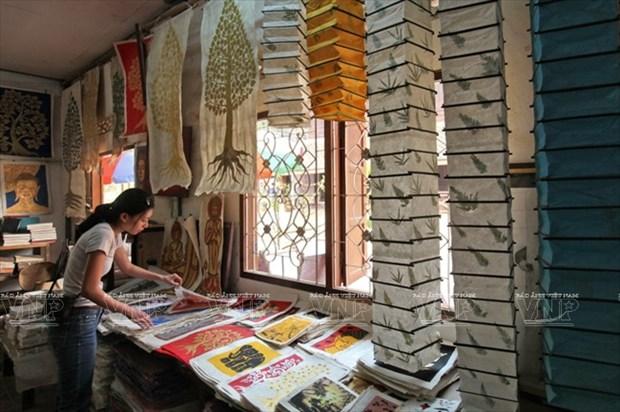 老挝琅勃拉邦的纱纸 hinh anh 8