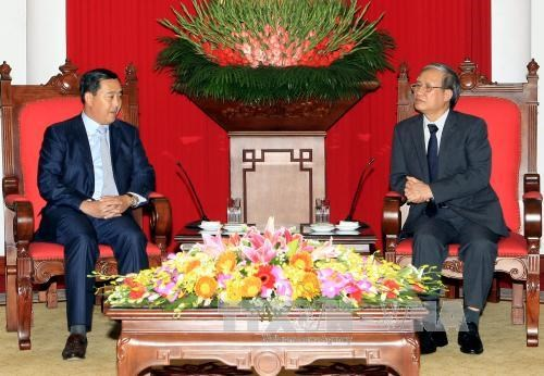 越南共产党和柬埔寨人民党加强合作 hinh anh 1