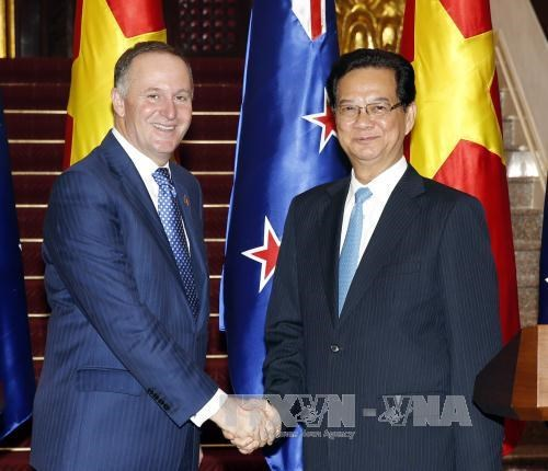 越南与新西兰深化全面合作关系 hinh anh 1