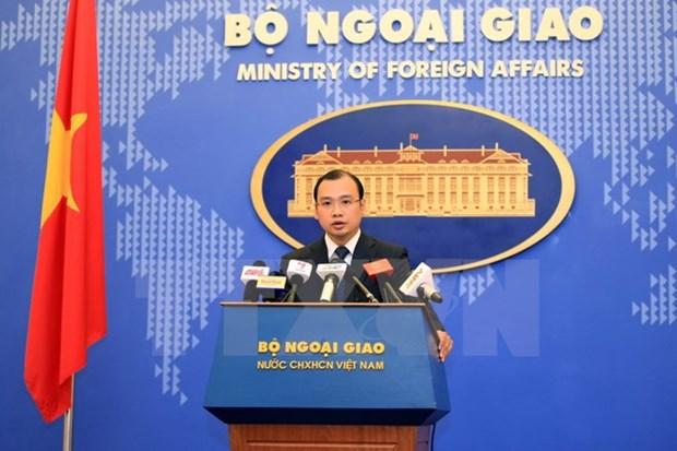 越南坚决反对任何针对越南船只使用武力或威胁使用武力的行为 hinh anh 1