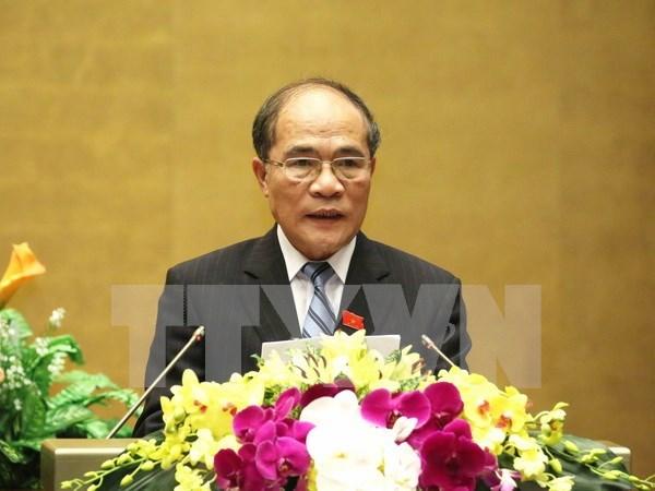 越南十三届国会十次会议圆满闭幕 hinh anh 1