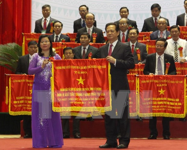越南政府总理阮晋勇:集中对新农村建设计划相关机制和政策进行核查 hinh anh 1
