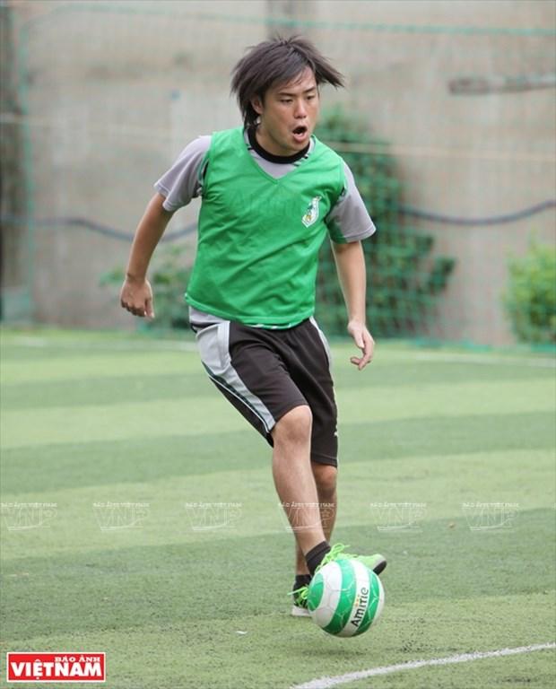 情系越南足球的日本教练 hinh anh 1