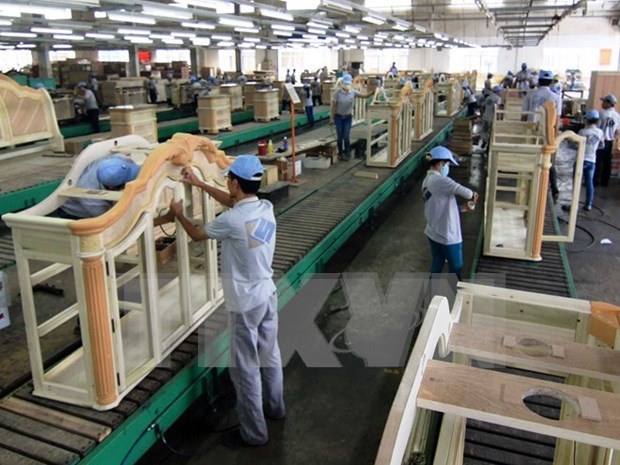 欧盟是越南木材和木制品的第四大出口市场 hinh anh 1