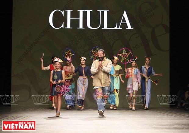 Chula品牌的突破性棉料服装 hinh anh 1