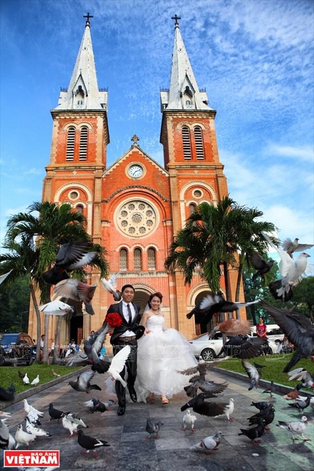 西贡圣母大教堂 hinh anh 11
