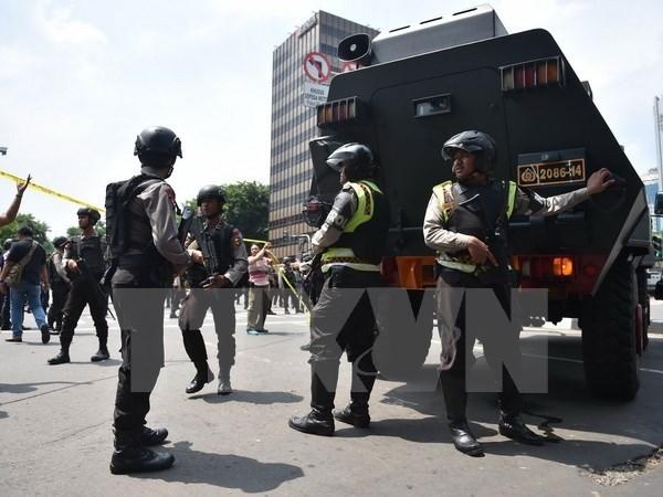 越南国家主席张晋创就雅加达爆炸袭击向印尼总统佐科致慰问电 hinh anh 1