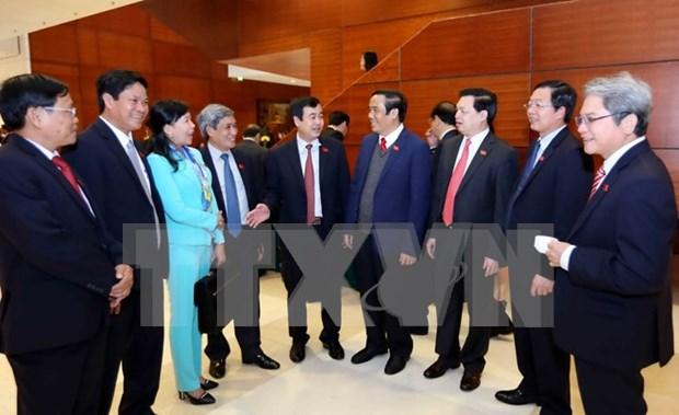 越共十二大:新一届中央委员会需要选择德才兼备的委员 hinh anh 2