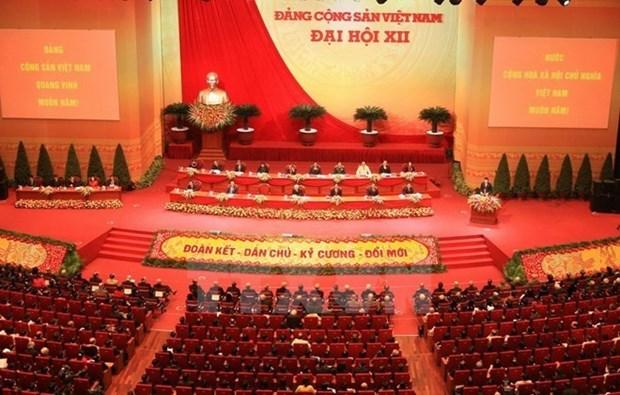 世界多国家政党、国际组织和友人继续致电祝贺越共十二大 hinh anh 1