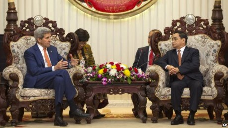 老挝和美国加强双边关系 hinh anh 1