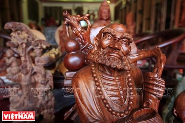 铁翁木雕工艺品 hinh anh 8