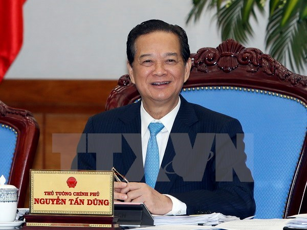 越南政府召开2016年1月份例行会议 hinh anh 1