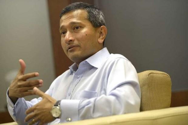 新加坡将努力促进制定《东海行为准则》 hinh anh 1