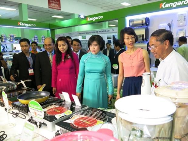 越南胡志明市着力将越南产品推向缅甸市场 hinh anh 1