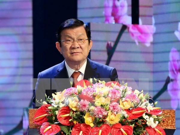 国家主席张晋创:医疗卫生部门应全面革新运作机制 hinh anh 1