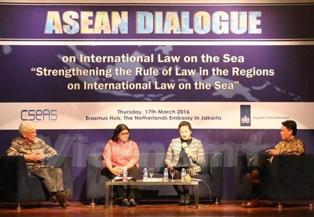关于国际法的东盟对话:合作与和平解决争端是必由之路 hinh anh 1