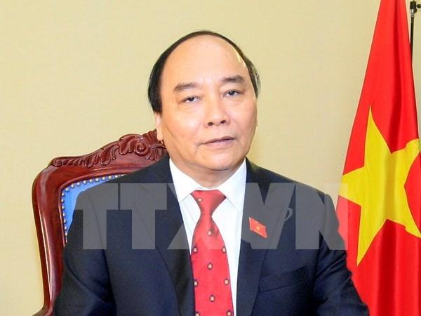 阮春福总理: 团结一致建设廉洁、强大、活跃创新和有效的政府 hinh anh 1