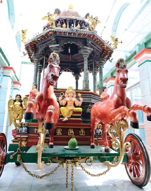 Mariamman庙——越印文化交流的象征 hinh anh 6