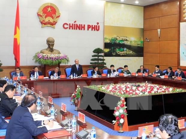 越南新政府召开首次会议 hinh anh 1