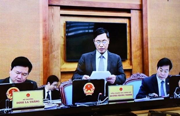 越南政府监察总署举行第一季度新闻发布会 hinh anh 1