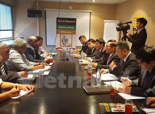 越南与南非加强对外新闻宣传合作 hinh anh 1