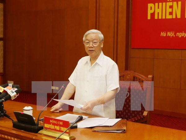 阮富仲总书记在中央反腐败指导委员会第十次会议的结论性意见 hinh anh 1