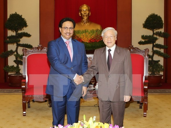 阮富仲总书记会见科威特首相贾比尔 hinh anh 1