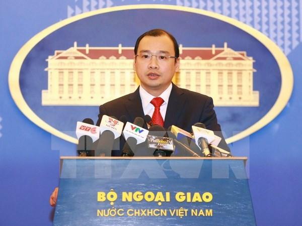 越南要求中国台湾停止组团登上巴平岛参观访问活动 hinh anh 1