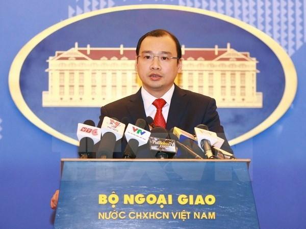 越南外交部发言人黎海平:越南坚决反对中国在东海实施休渔令 hinh anh 1