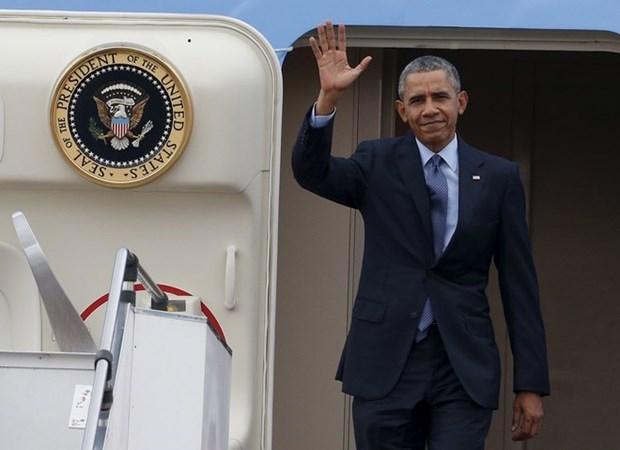 美国总统奥巴马启程对越南和日本等亚洲国家进行访问 hinh anh 1