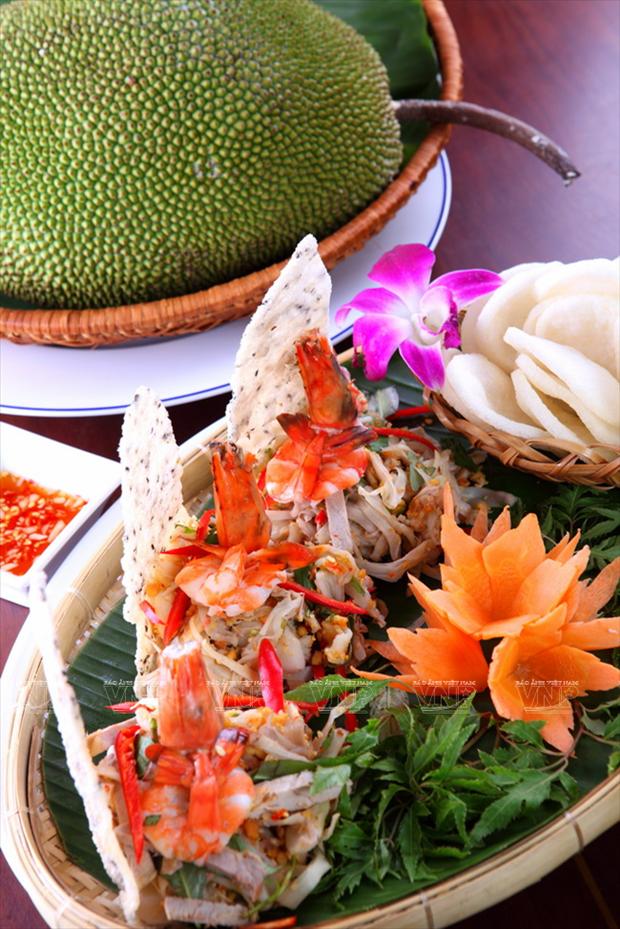 越南中部菠萝蜜沙拉 hinh anh 1