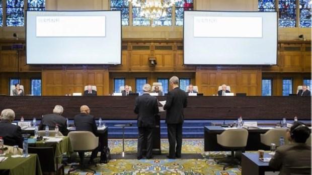海牙国际常设仲裁法庭:中国的行为加剧了与菲律宾的争议 hinh anh 1