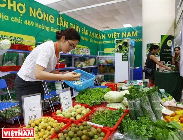 """首都 """"清洁农产品绿色地址"""" hinh anh 1"""
