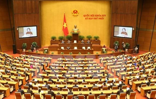 第十四届国会第一次会议在河内闭幕 努力完成同胞和选民赋予的重任 hinh anh 1
