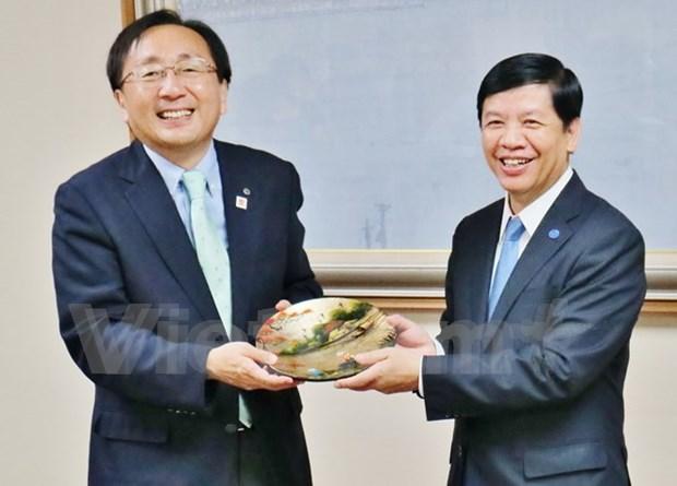 日本青森县企业希望赴越南寻找投资机会 hinh anh 1