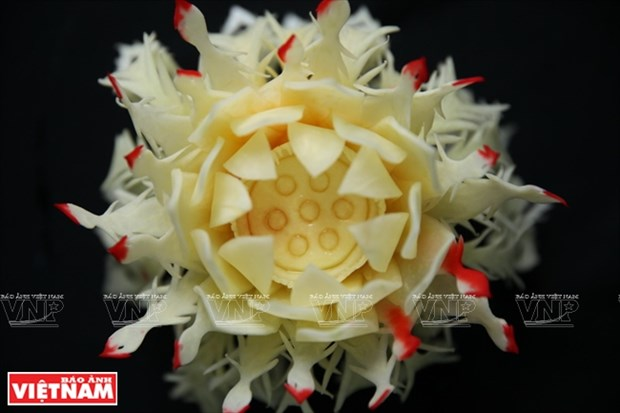 木瓜雕花艺术(组图) hinh anh 14