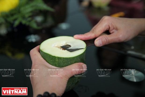 木瓜雕花艺术(组图) hinh anh 3