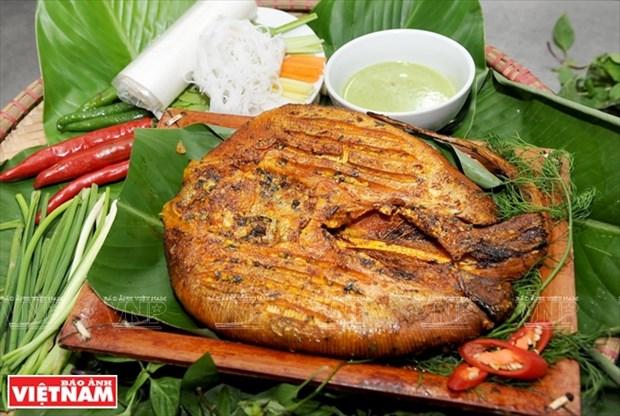 岘港市的特产:青椒烤鳐鱼 hinh anh 4