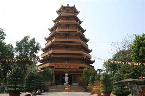 越南著名的五座寺里温暖人情的盂兰盆节 hinh anh 7