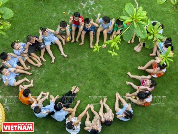 越南幼儿园跻身世界典范建筑提名单 hinh anh 11