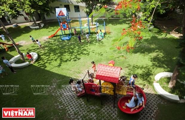 越南幼儿园跻身世界典范建筑提名单 hinh anh 12