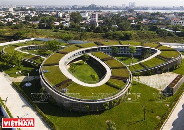 越南幼儿园跻身世界典范建筑提名单 hinh anh 1