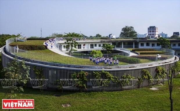 越南幼儿园跻身世界典范建筑提名单 hinh anh 2