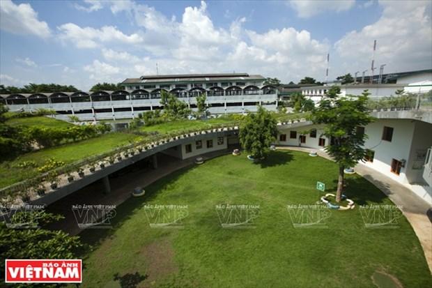 越南幼儿园跻身世界典范建筑提名单 hinh anh 3