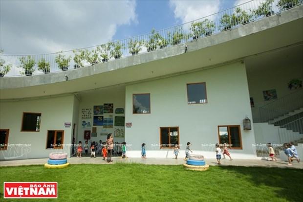 越南幼儿园跻身世界典范建筑提名单 hinh anh 4
