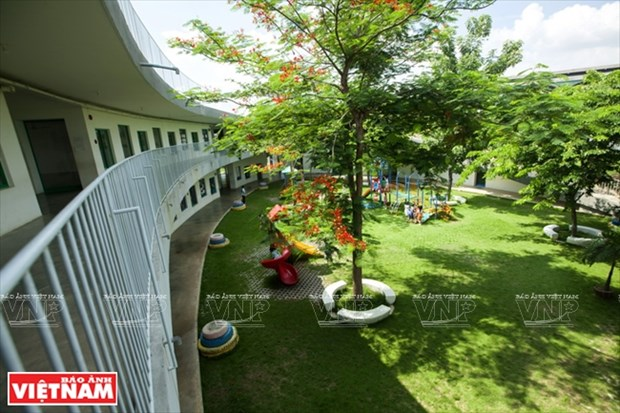越南幼儿园跻身世界典范建筑提名单 hinh anh 5