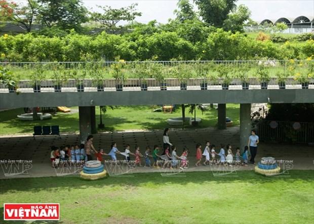 越南幼儿园跻身世界典范建筑提名单 hinh anh 6