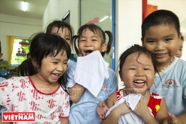 越南幼儿园跻身世界典范建筑提名单 hinh anh 7